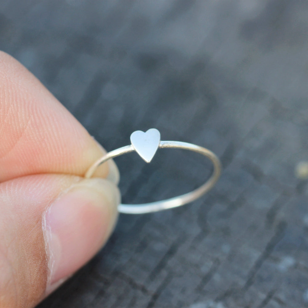 dainty love ring,tiny silver heart ring,925 Sterling silver heart jewelry,Minimalist Heart Ring,Heart Ring Silver,dainty silver ring
