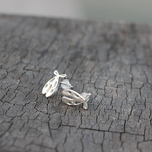 Load image into Gallery viewer, 925 sterling silver Ballet shoes stud earrings,Dance earrings,Ballet Friendship earrings,ballerina gift,for her