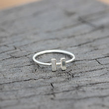 Music player symbol ring,sterling silver ring,dainty rings,Music Gift,Teacher Gift,silver rings,music lover jewelry,I love music,gift idea