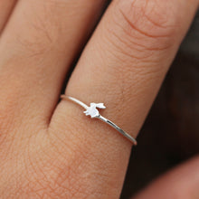 925 sterling silver Bunny Ring, Little Bunny, Bunny Rabit Ring, Rabbit Rings,Gift ideas, SILVER Rabbit Ring, Minimalist RING