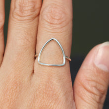 sterling silver geometric ring,jewelry,Triangle Ring,square ring,Rectangle ring,Hexagon ring,silver oval ring,circle ring,horseshoe ring