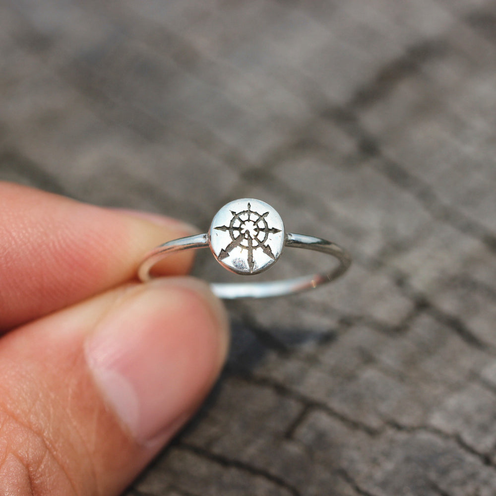 925 silver Star Of Chaos ring,Chaos Star Ring,Chaos Signet Ring,Wheel of Chaos jewelry,magic star ring,inspried jewelry