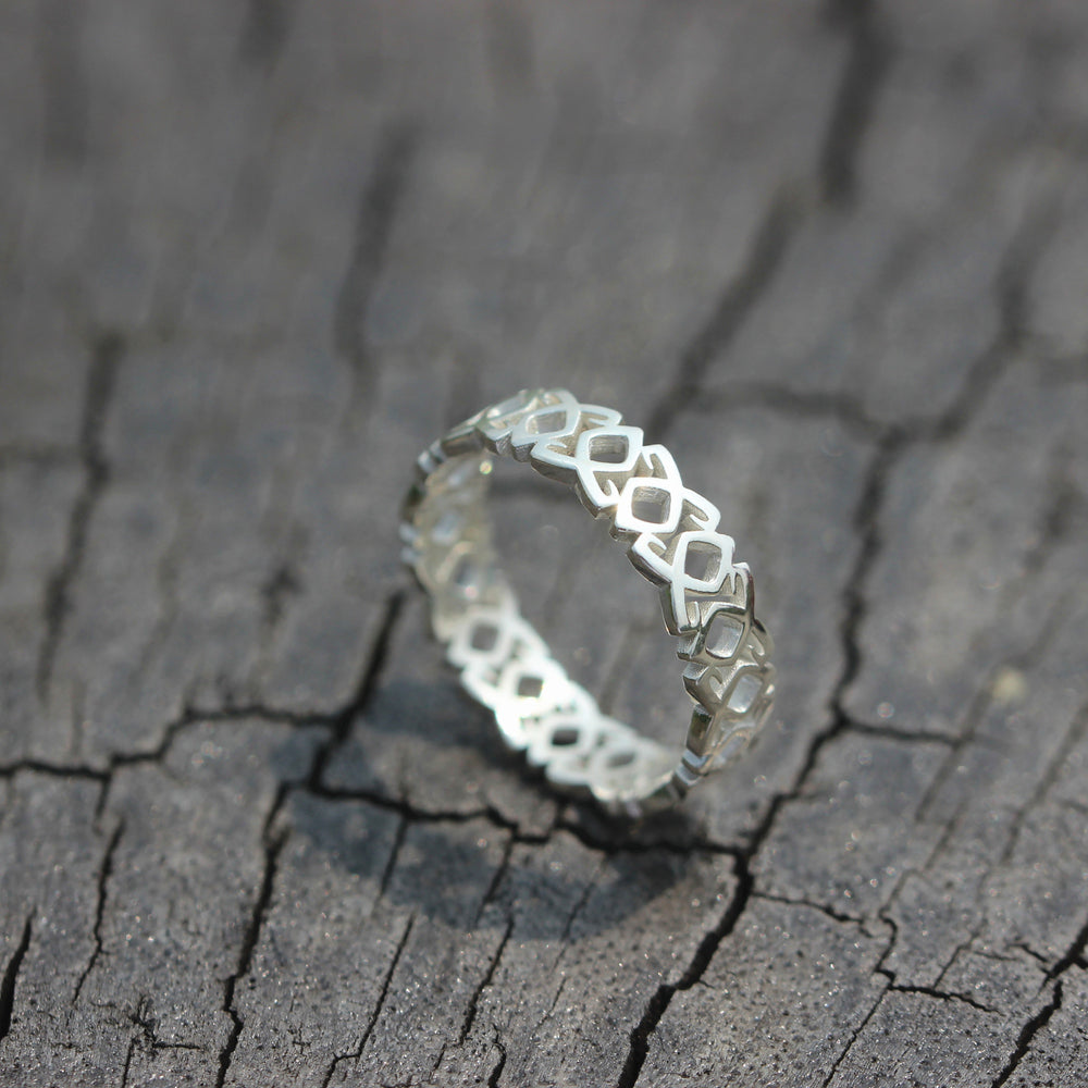 Load image into Gallery viewer, custom Runes ring,925 sterling silver Celtic ring,Parabatai Rune ring,Healing runes ring,Dainty ring,Viking jewelry,Viking,Pagan,Norse