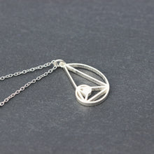 Fibonacci necklace,solid 925 sterling silver the Golden Ratio necklace,Seed of Life necklace,Science jewelry,Talisman Jewelry