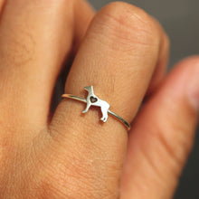 sterling silver Doberman Dog ring,silver family jewelry,rings,Animal Rings,animal lover jewelry,beagle jewelry,Dog Lover Gift