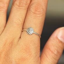 Volleyball ring,dainty ball ring,Volleyball,Player jewelry,solid 925 silver ring,ring silver,gift idea