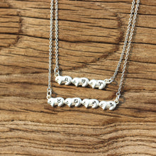 leave note - solid 925 silver Bunny Rabbit necklace,Personalized bunny jewelry,sterling silver bunny necklace,custom zodiac necklace,silver sister jewelry