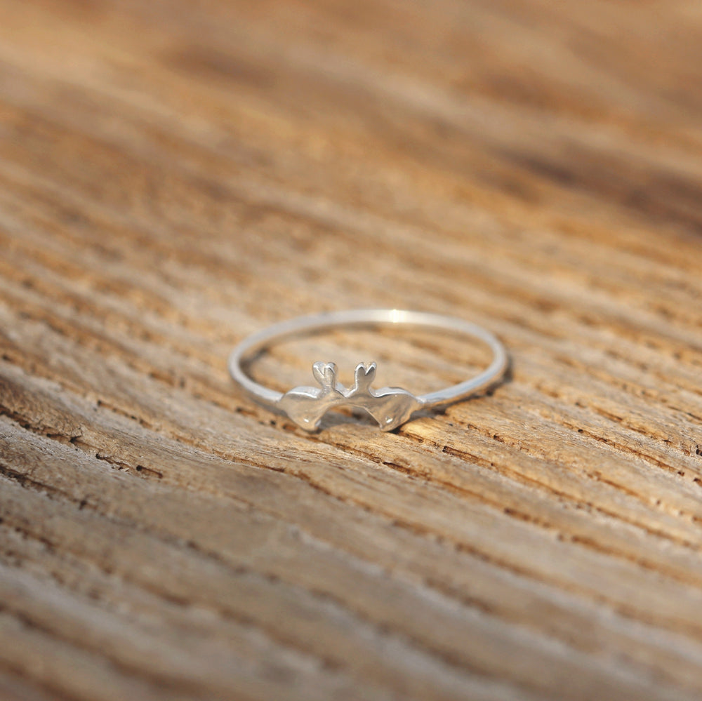 925 bunny rabbit ring,silver rabbit ring,silver family pet jewelry,dainty animal lover jewelry