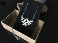 The Legend of Zelda jewelry Triforce necklace sterling silver zelda Pendant gifts SC107N_S