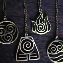 4 Nations the antique bronze Avatar: The Last Airbender jewelry halloween gift