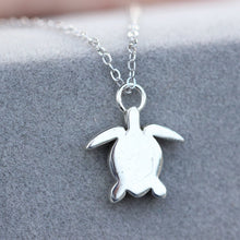 dainty turtle necklace,sterling silver turtle necklace,sea turtle jewelry,gift for her