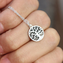 Tree of Life Necklace, Tree Necklace, Sterling Silver Necklace, Pendant Necklace, tree Jewelry, Gift for her