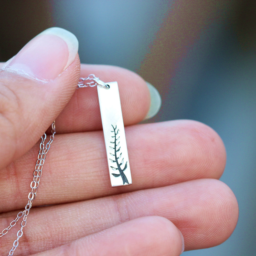 Load image into Gallery viewer, 925 silver tree necklace