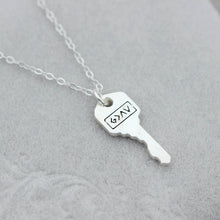 Key Necklace,key jewelry,Inspirational Necklace,Motivational Necklace,
