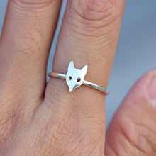 Fox Ring fox ,Fox Head Mask ring,Animal Rings, Animal Jewelry,Sterling Silver Boho Ring Gift for Her Woodland  Gift idea