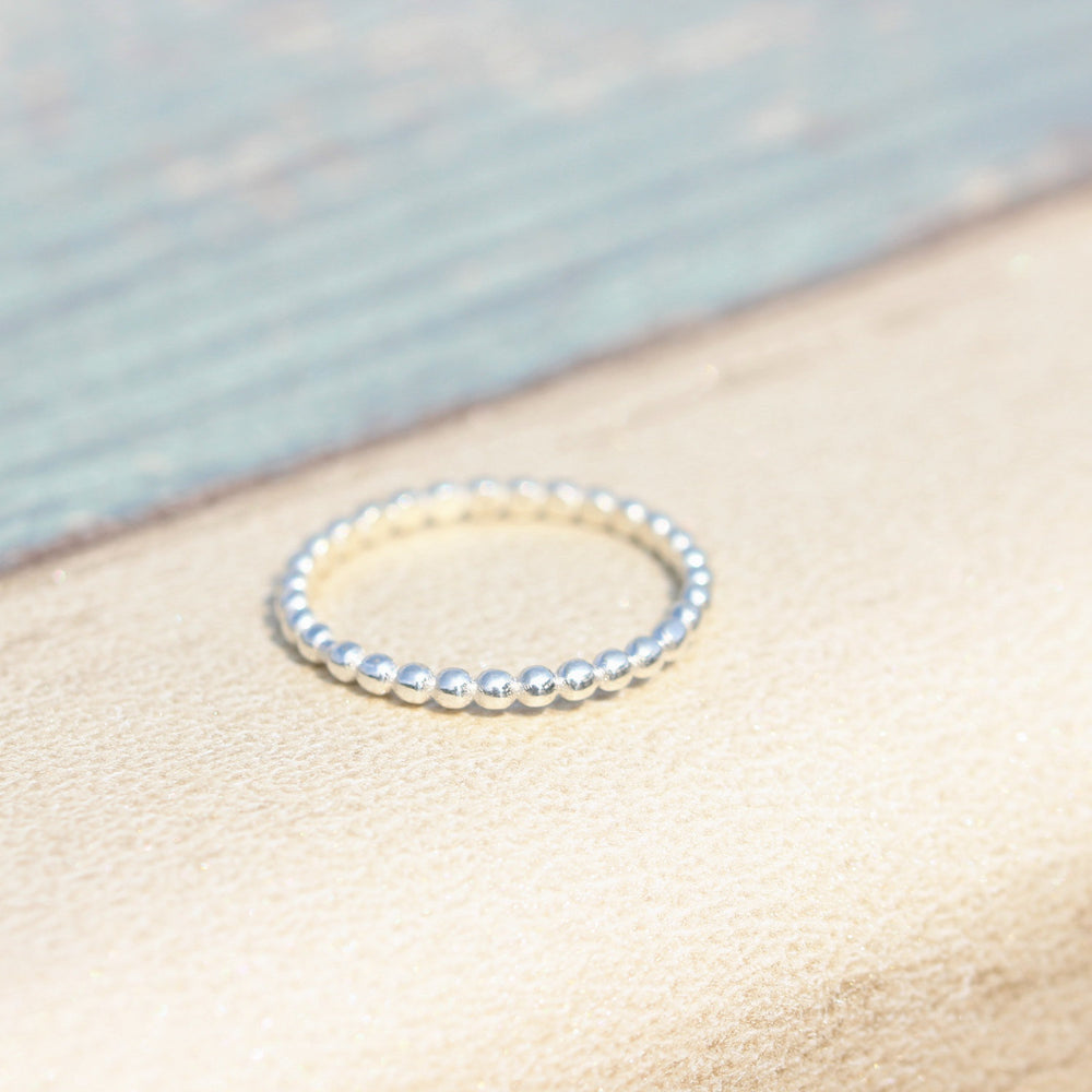 Sterling silver ball ring,Thin Silver Ring, Sterling Teeny Tiny Thin Ring