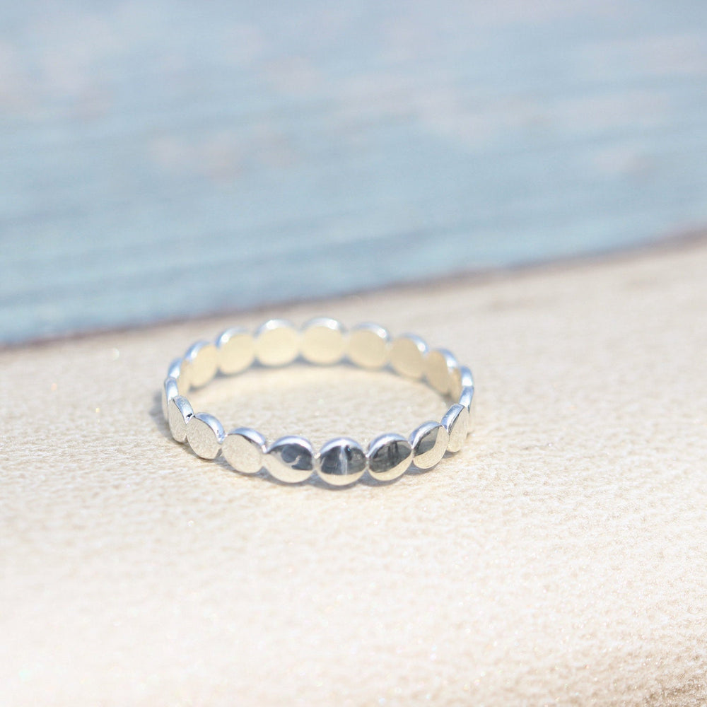 Sterling silver ring,Thin Silver round Ring, Sterling cute Thin Ring