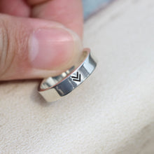 925 sterling silver viking ring-create your own reality,Triangle Ring,gifts idea for her,simple jewelry
