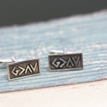 God is greater than the highs and lows cufflinks, Jewelry,sterling silver cufflinks,cufflinks men's,cufflinks for groom, Fathers Day Gift