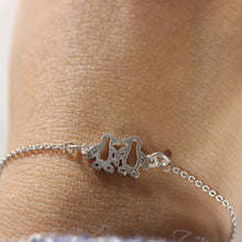 925 sterling silver Penguin bracelet,couple jewelry,lover jewelry,girlfriend gift,Pet Jewelry Animal Pet jewelry