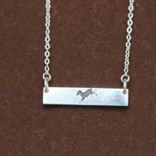 sterling silver bar necklace,silver horse necklace,jewelry,sterling silver ring,silver rings,dainty jewelry