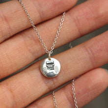 sterling silver Jeep necklace,car jewelry,Tractor jewelry,Tractor necklace,farmer jewelry,farm gift