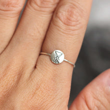sterling silver Satanic ring,Sigil of Lucifer ring,silver rune ring,Emblem Amulet ring,protection jewelry