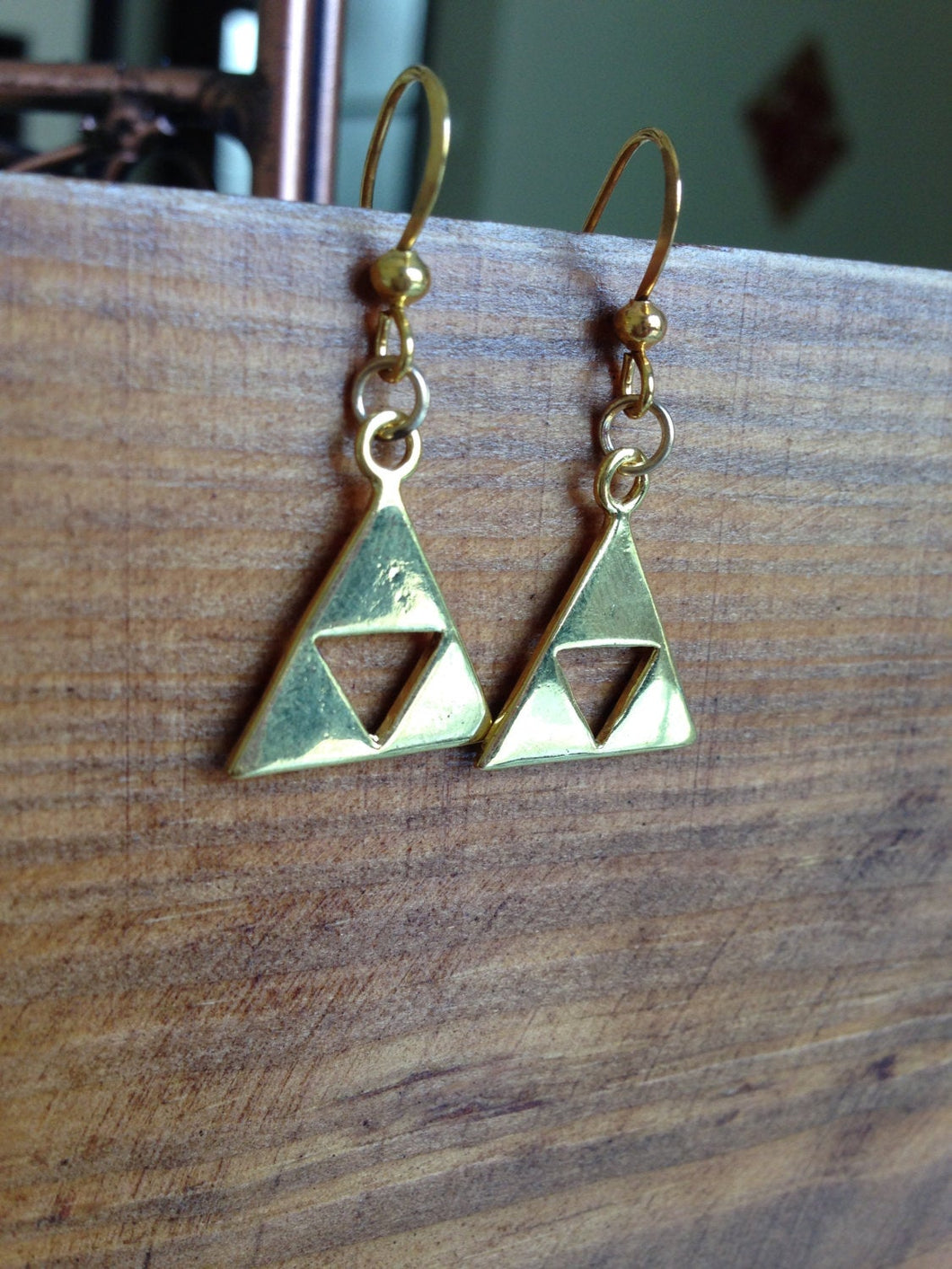 Gold Zelda Earrings Christmas Gifts C366E_G