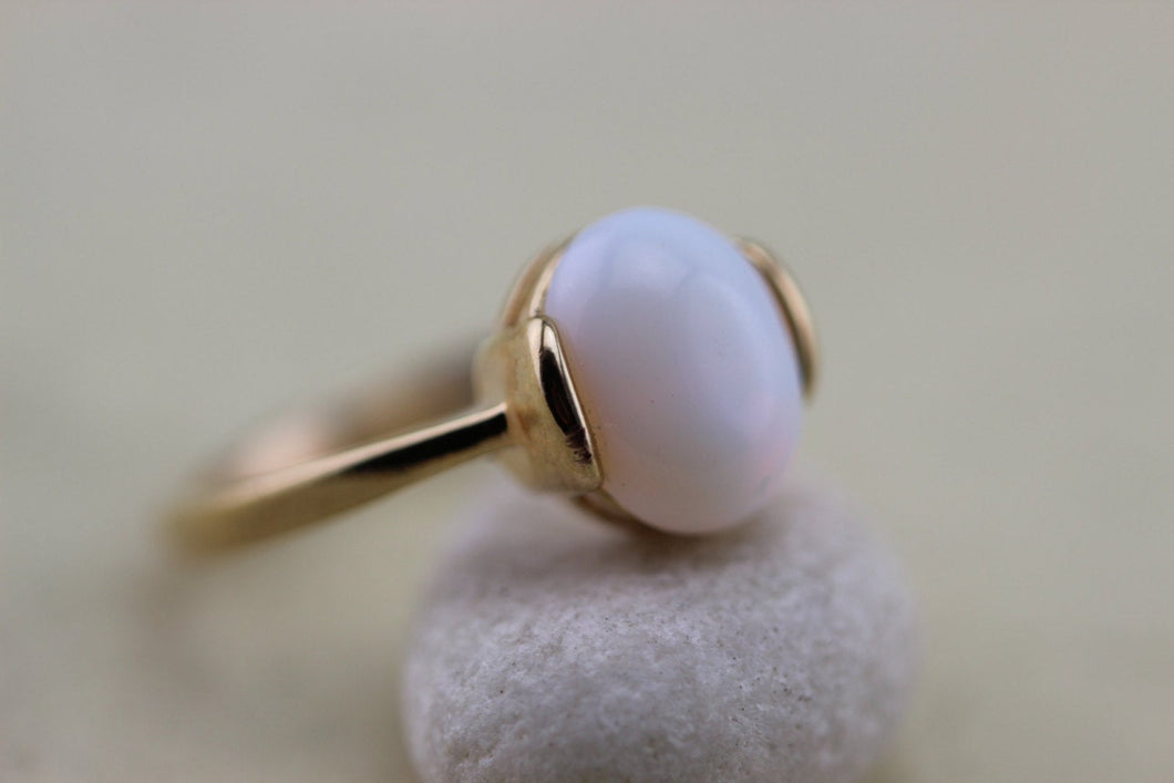 Simple Jewelry Opal Ring Bella Inspired Charms Halloween Jewelry Christmas Gifts C324R-1_G