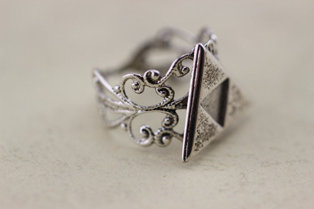925 Silver The Legend Of Zelda Jewelry Triforce Ring Metal Antique gift Halloween Gift Christmas Gifts