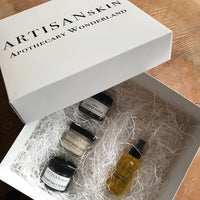 Gift Box: Skin Medicine Body Oil and Scrub Sampler Trio
