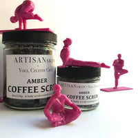 Amber Coffee Scrub by Celebrity Yogi, Celeste Cruz