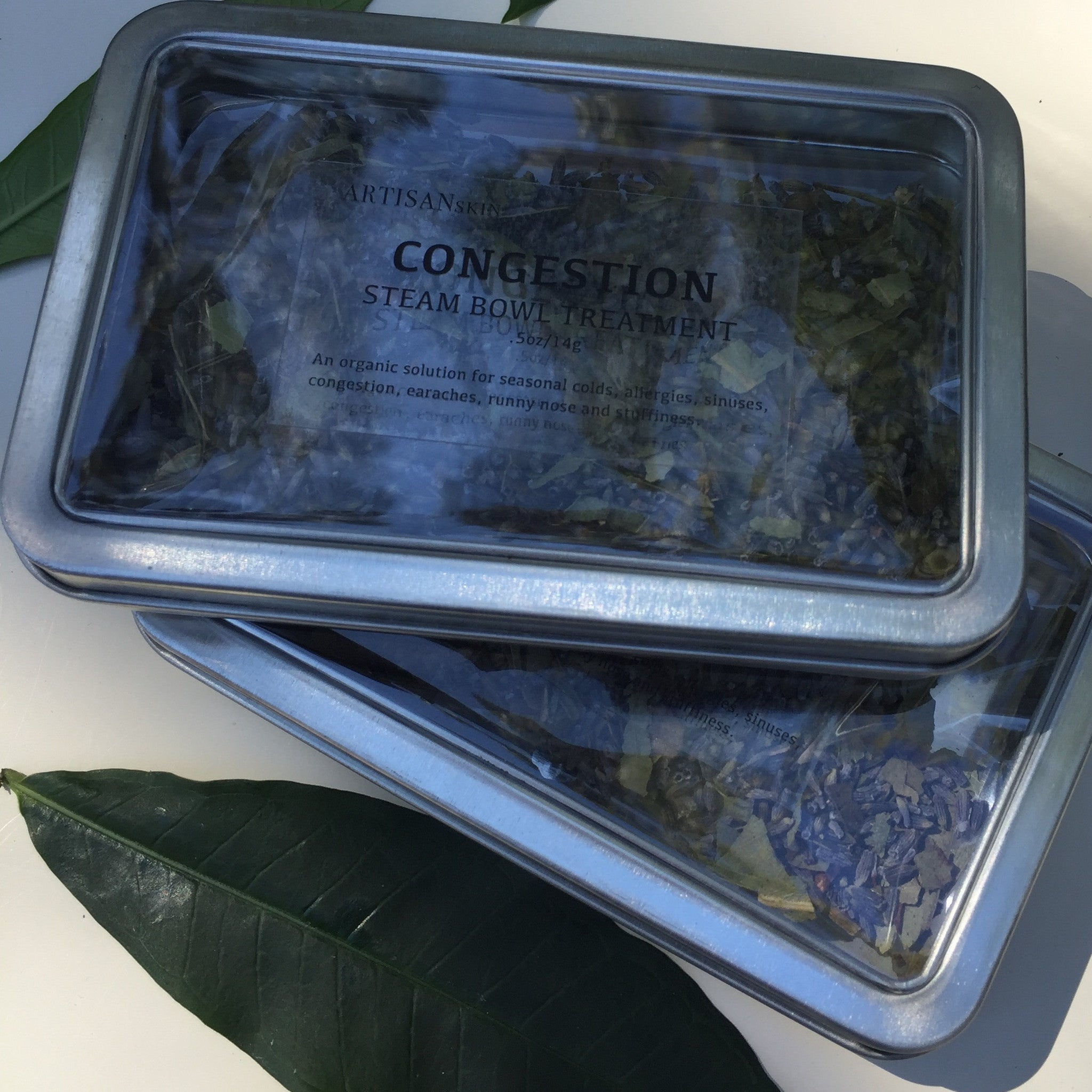 Congestion Steam Bowl Treatment