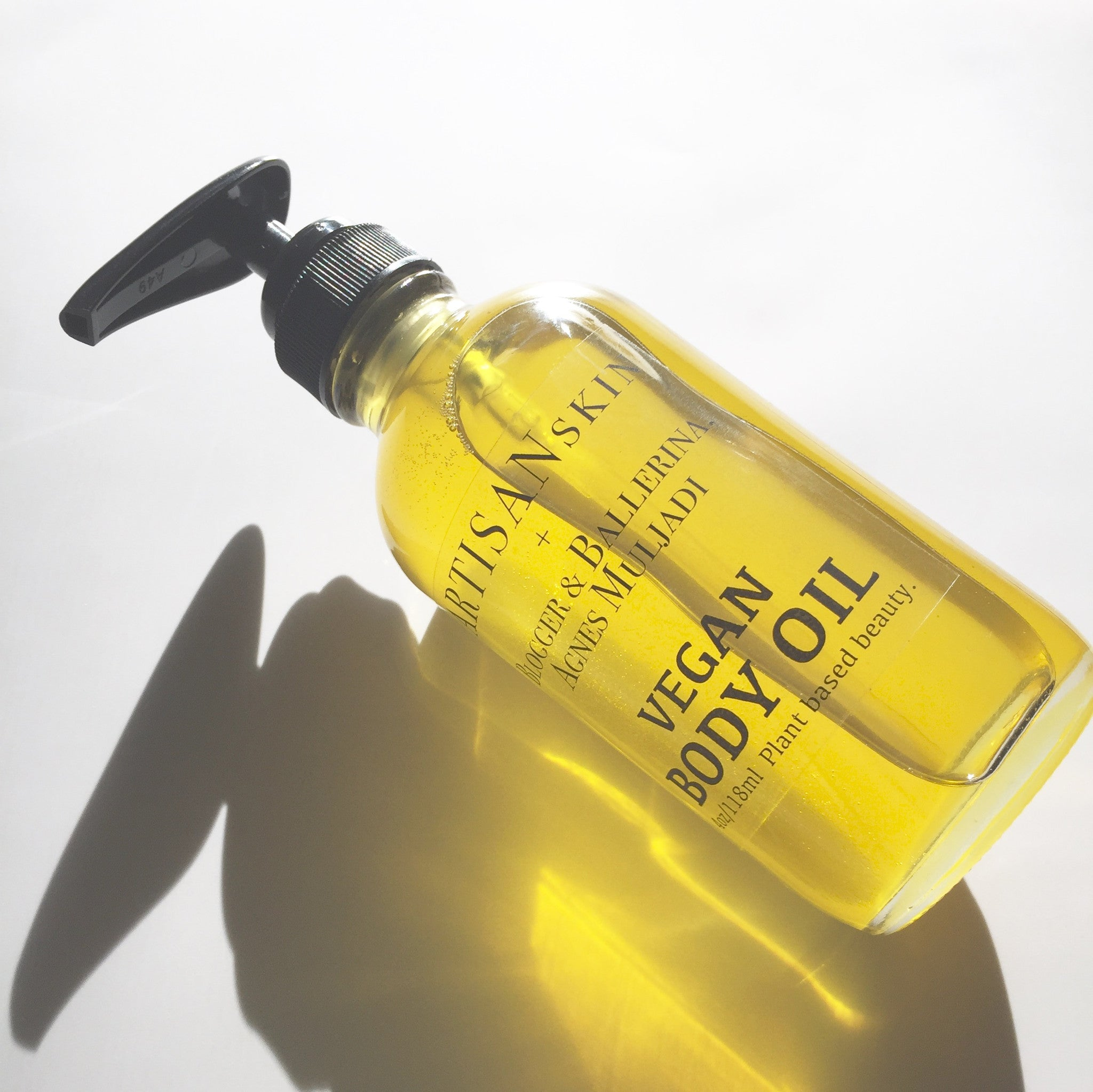 Vegan Body Oil by Celebrity Blogger & Ballerina, Agnes Muljadi