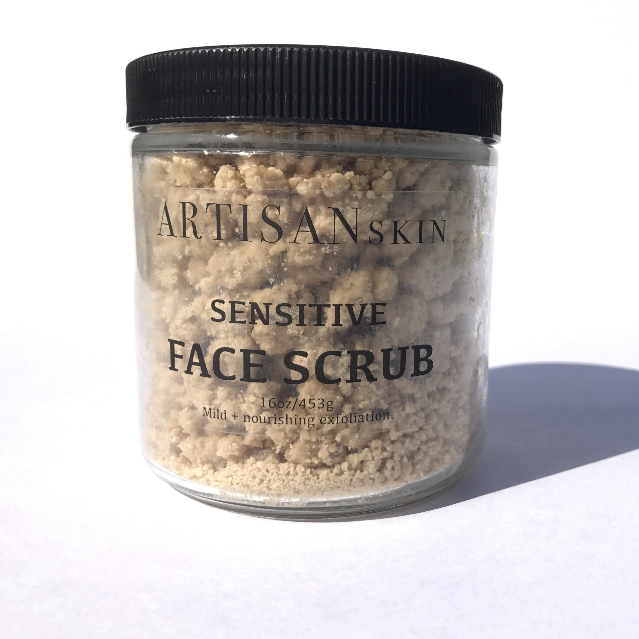Sensitive Face Scrub