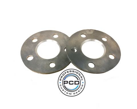 5x120 PCD (65.1 CB) Shim Spacers (Pair) FOR STEELS