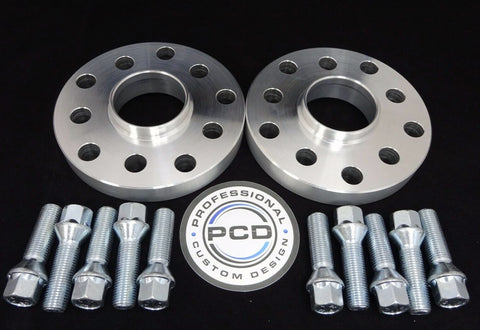 5x100 or 5x112 (57.1 CB) Hubcentric Wheel Spacers