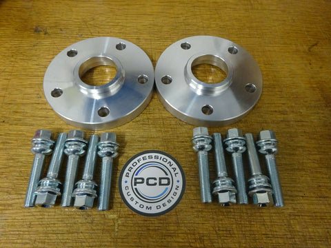 VW Transporter T5 T6 Hubcentric Spacers 5x120 PCD (65.1 CB) FOR ALLOYS
