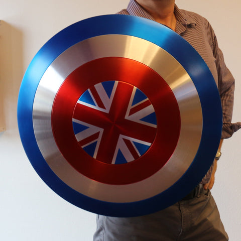 Captain Carter Shield - Metal Prop Replica - Screen Accurate Marvel What If? - Comic Sandwiches