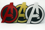 Avengers Wall emblem - Comic Sandwiches