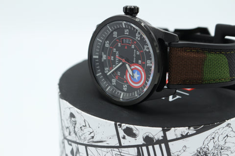 Captain America - Marvel Citizen Watch (AW1367-05W) - Comic Sandwiches