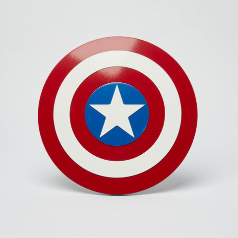 Captain America Wall Emblem - Comic Sandwiches