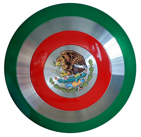Captain Mexico Shield - Comic Sandwiches Prop Replicas