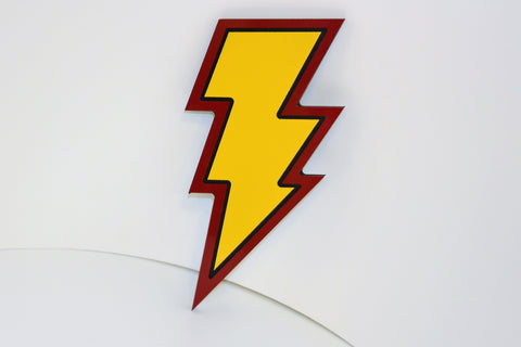 Shazam! Wall Emblem - Comic Sandwiches Prop Replicas