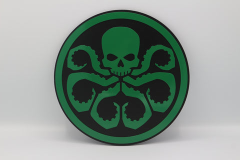Hydra Wall Emblem - Comic Sandwiches Prop Replicas