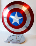 Captain America Shield - Metal Prop Replica - Screen Replica - 1:1 Scale - Comic Sandwiches Prop Replicas
