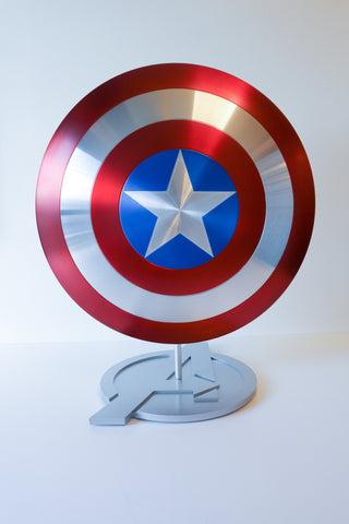 Captain America Shield Display Stand - Comic Sandwiches