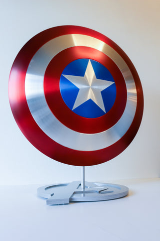 Captain America\u2019s Shield stand with LED