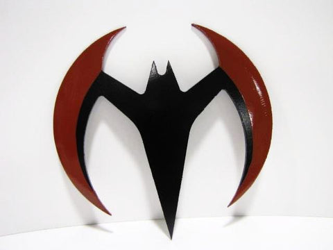 Batman Beyond Batarang - Precision Cut Aluminum - Comic Sandwiches Prop Replicas