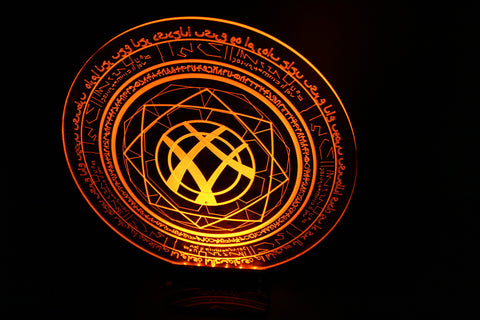 Doctor Strange Magic Symbol w/Light base